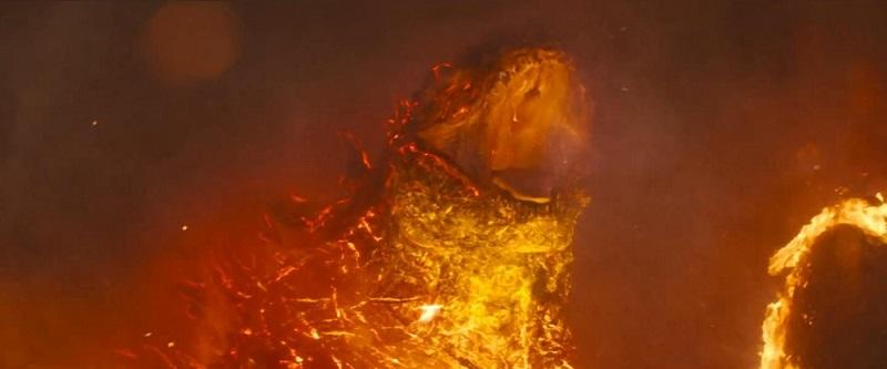 《哥斯拉2:怪兽之王》日本版预告霸气爆表 哥斯拉基多拉对喷射线惊爆眼球