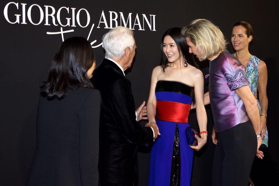 田海蓉2020巴黎春夏高定周,有阿玛尼陪伴同行的丝绸之路