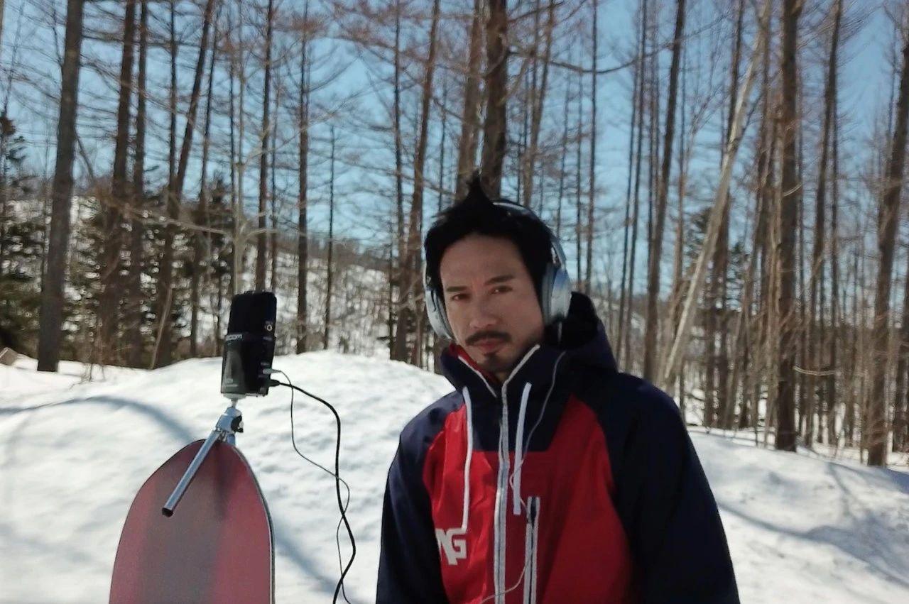 Eric Kwok 大胆挑战雪地拍摄MV「Chok又型」