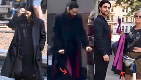 《莫比亚斯》片场照再曝细节 莱托少爷身穿全黑神秘套装