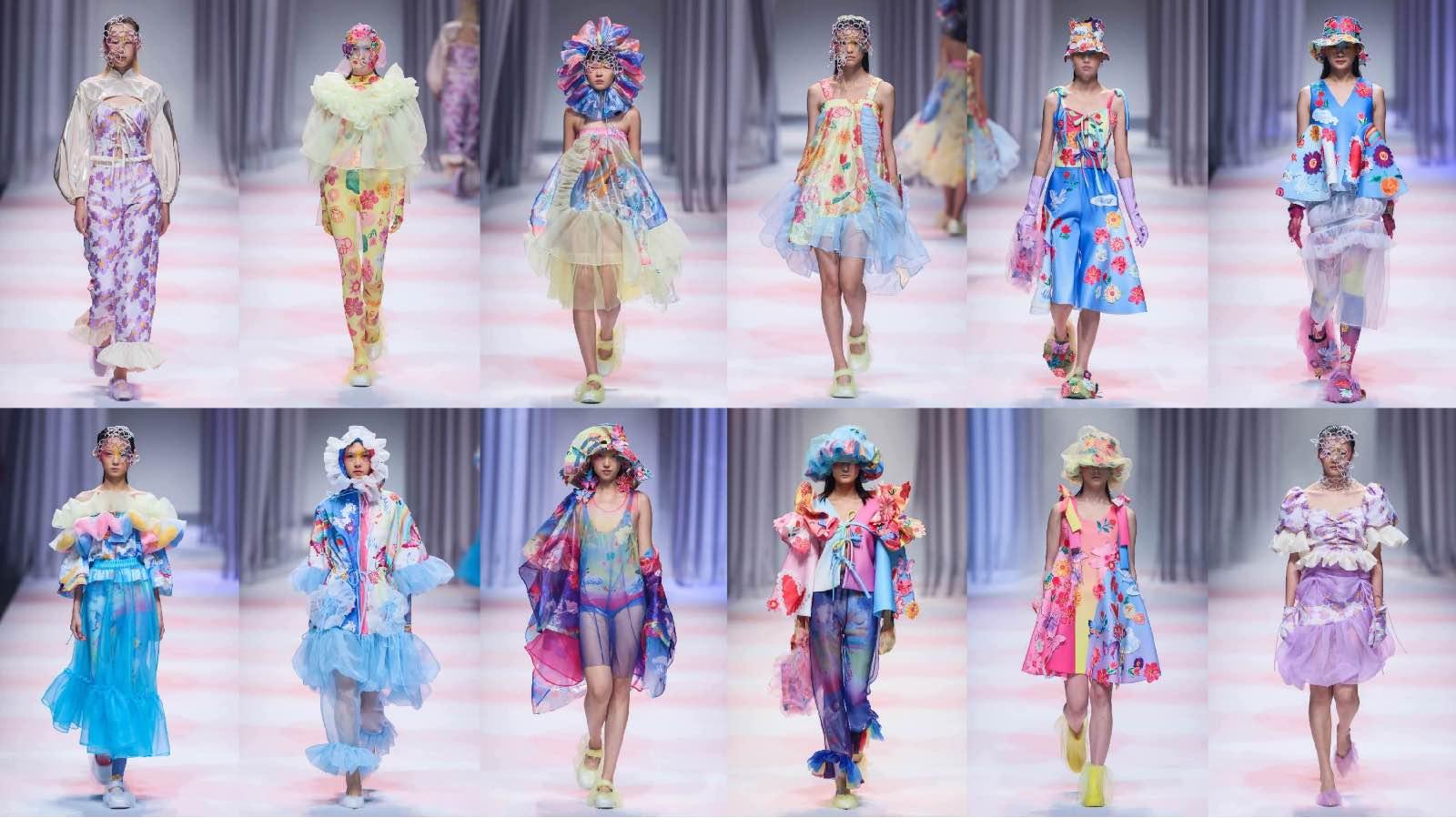 SS2021上海时装周Colorwonderland闪亮发布