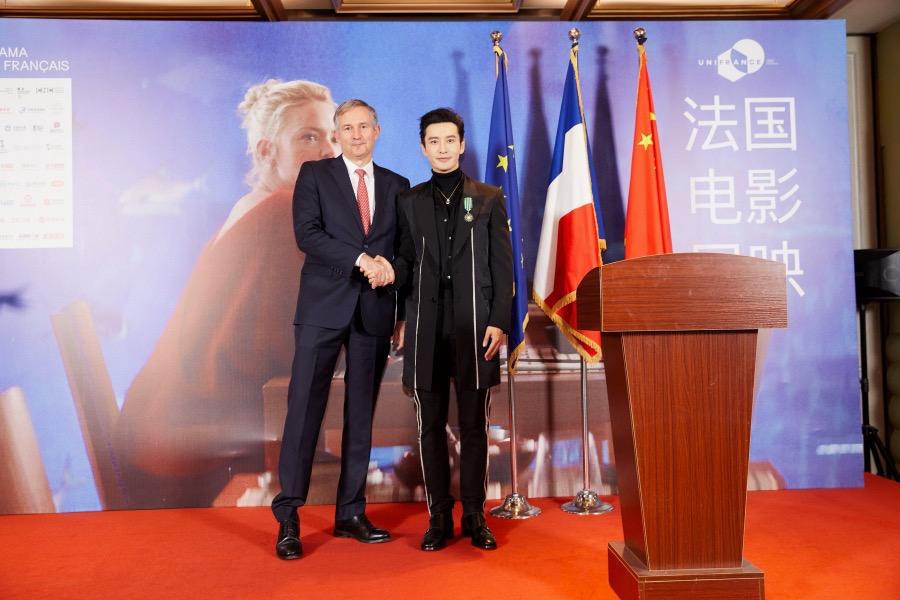 2020年第十七届法国电影展映启动  金鸡奖最佳男主黄晓明倾情助阵