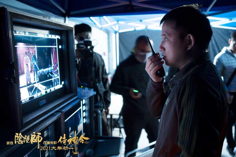 《侍神令》挑战最难视效赋予侍神生命力  影片改编自游戏《阴阳师》